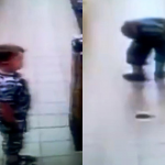 CCTV Captures Boy Having POO In Supermarket Aisle Before Someone STEPS In It