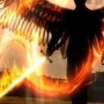 Caught on tape: Angels with Flaming Swords!!!
